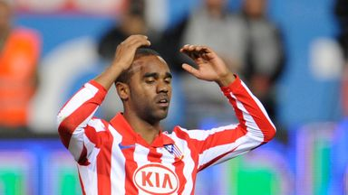 Florent Sinama Pongolle played for Atletico Madrid between 2008-10