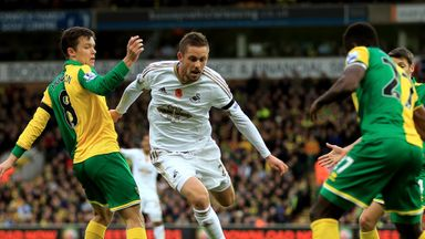Gylfi Sigurdsson says he has a good relationship with Swansea manager Garry Monk