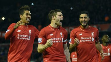 Liverpool signed James Milner (centre) and Roberto Firmino (left) this summer