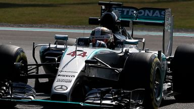 Lewis Hamilton was back on top in Abu Dhabi first practice