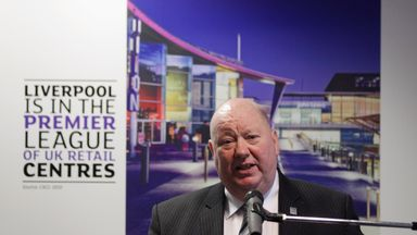 Joe Anderson has expressed his disappointment in Everton