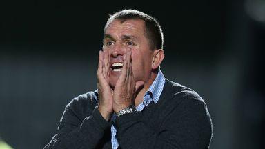 Martin Allen: Pleased with Sam Muggleton