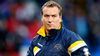 Shrewsbury Town boss Micky Mellon
