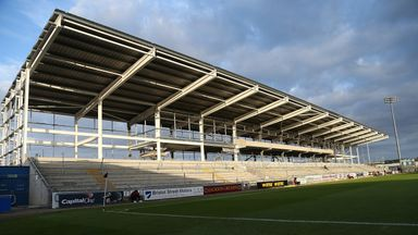 Northampton Town loaned £10.25m from their local council to improve the club's east stand