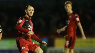 Rhys Murphy: Has rejoined Crawley Town on loan