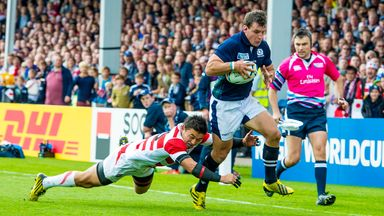 Scotland were 45-10 winners over Japan at the 2015 World Cup