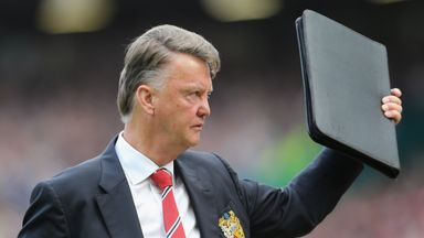 Louis van Gaal has defended his side's attacking play