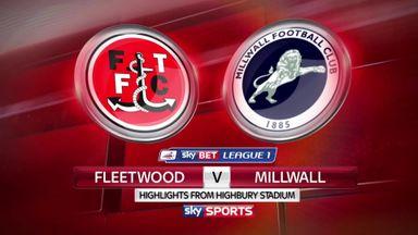 Fleetwood 2-1 Millwall
