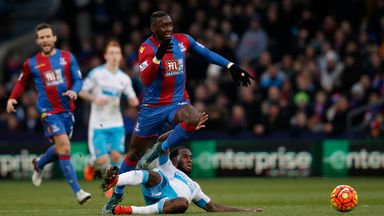Yannick Bolasie has been in good fine form for Crystal Palace this season