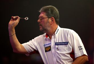 Martin Adams: Suffered a surprise defeat at the Lakeside