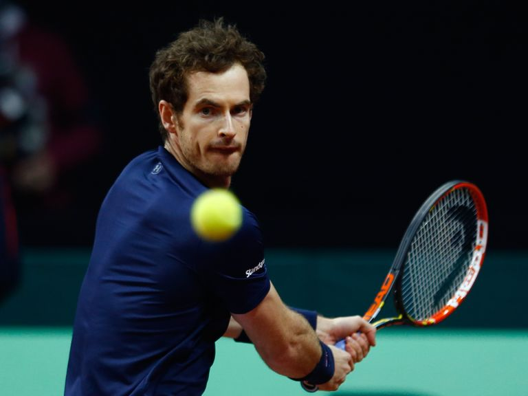 how did andy murray get on today
