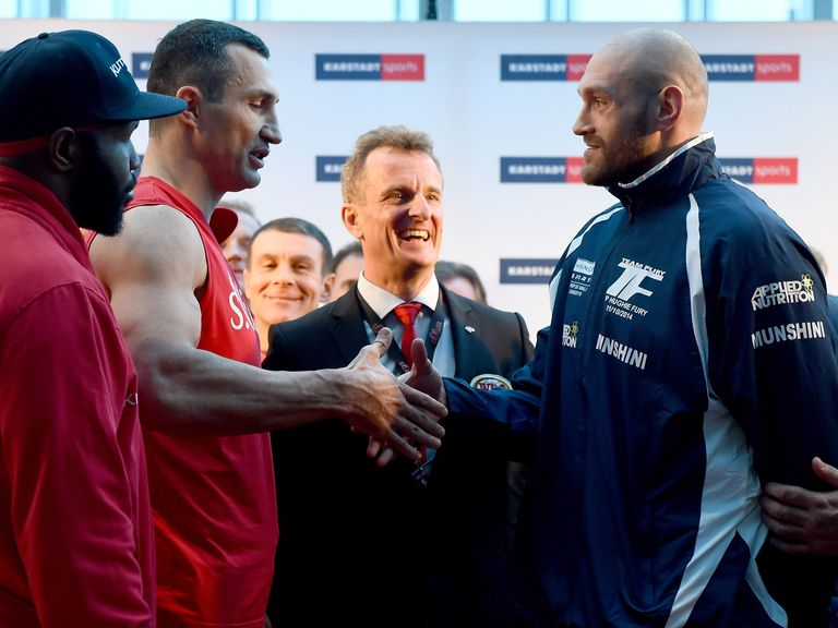 Watch Boxing live: Wladimir Klitschko vs Tyson Fury TV