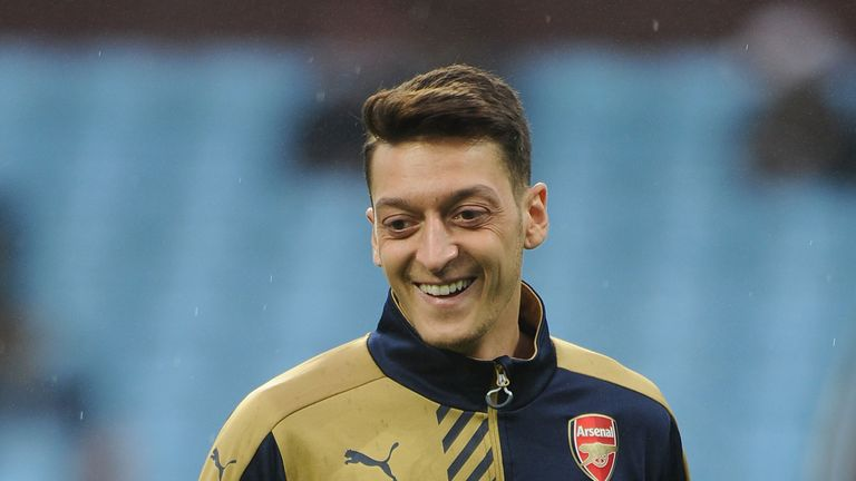 Mesut Ozil leads the Premier League in assists