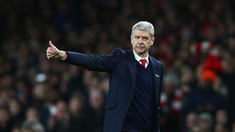 Wenger has rarely allowed public and media opinion to influence his work