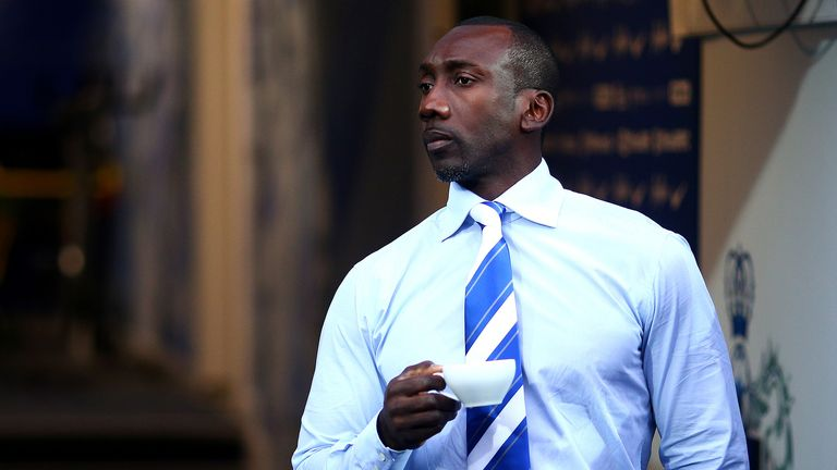 QPR manger Jimmy Floyd Hasselbaink is looking for his first win as boss