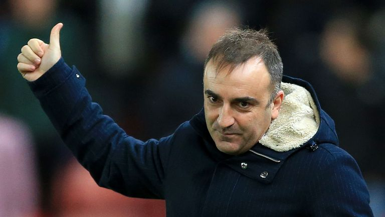 Carlos Carvalhal has lost just seven matches in 33 games in all competitions