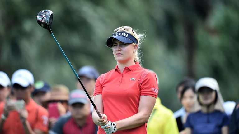 Charley Hull is part of a strong field in Dubai this week