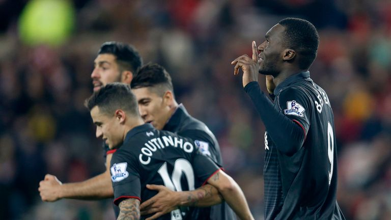 Christian Benteke (right) earned Liverpool victory over Sunderland