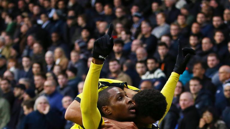 Odion Ighalo is on fine form for Watford this season