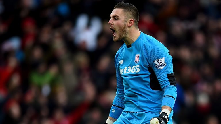Stoke City's Jack Butland hasn't made an error leading to a goal this season