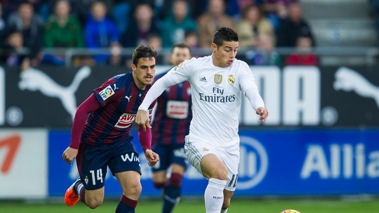 James Rodriguez will not be heading to Old Trafford this month, says Balague