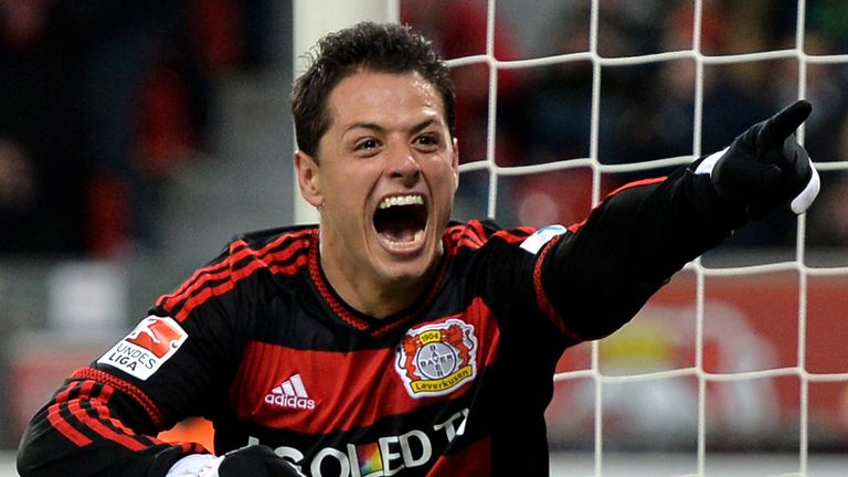 Javier Hernandez has shone for Bayer Leverkusen this season