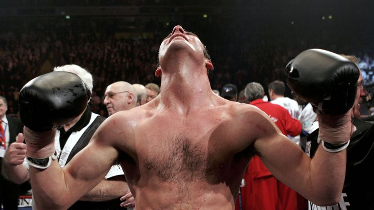 Calzaghe edged his fight with Hopkins