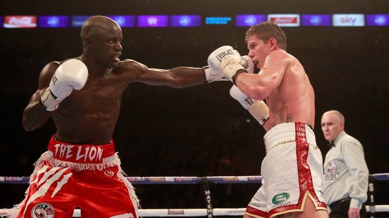 Mendy defeated Campbell at The O2 in 2015 to hand the Brit his first loss in the paid ranks