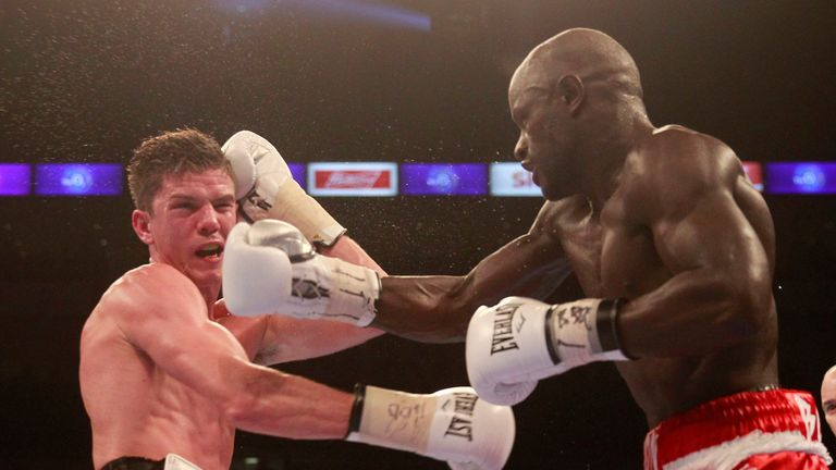 Campbell struggled to hold off the Frenchman and was floored in the fifth