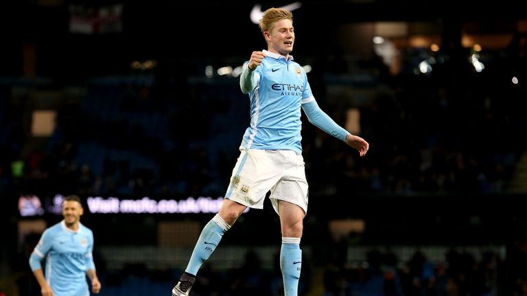 Kevin De Bruyne has quickly settled into City's team