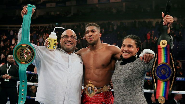 Anthony Joshua Father