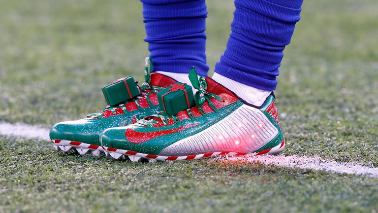 Even Beckham's cleats are exciting...