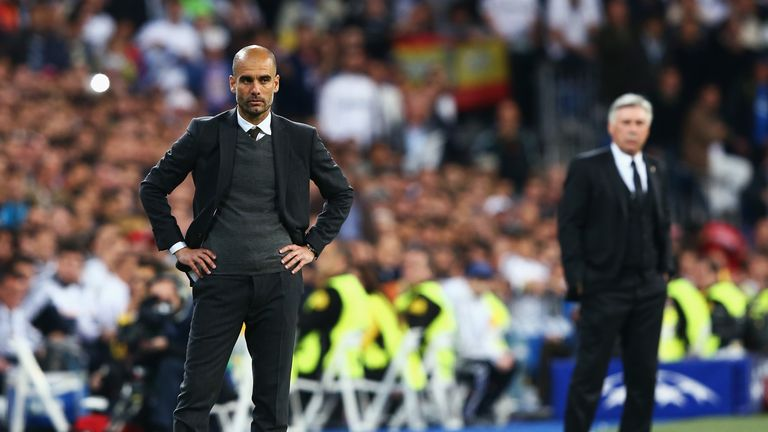 Guardiola's first job in management was with Barcelona, where he had huge success