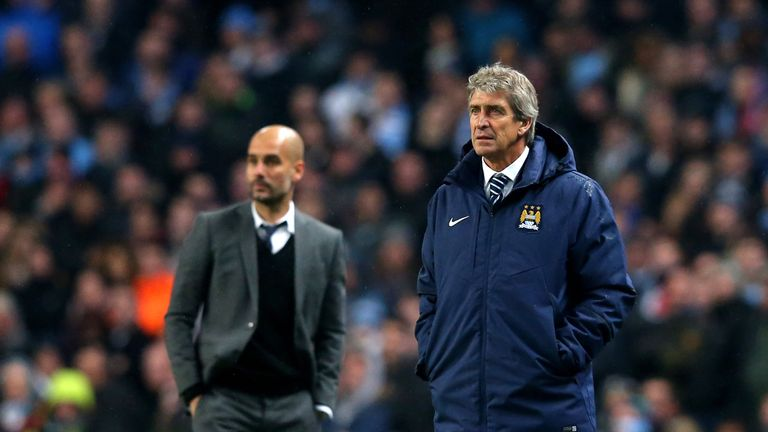 Guardiola is the bookmakers' favourite to take over from Manuel Pellegrini
