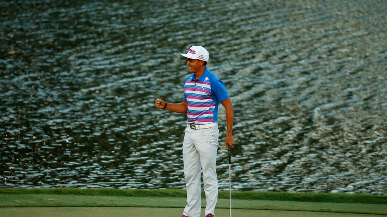 Rickie Fowler birdied the 17th three times on the final day in his thrilling TPC win last year