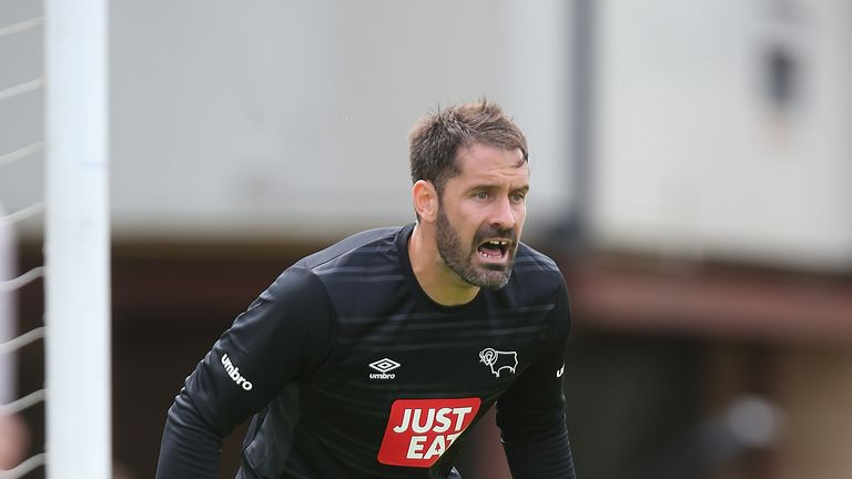 Scott Carson was forced into making a couple of important saves