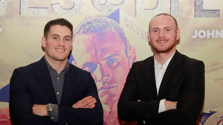 Shane McGuigan (left) has taken over as George Groves' new trainer