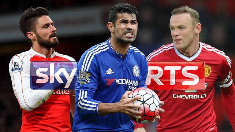 premier league fixtures live on sky sports chelsea v manchester united and merseyside derby in february schedule