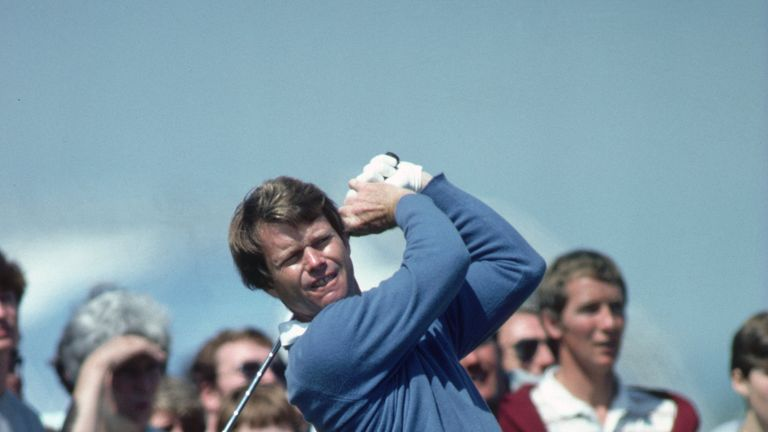 Tom Watson dominated The Open in the early 80s, winning three times in four years including in 1982 at Troon