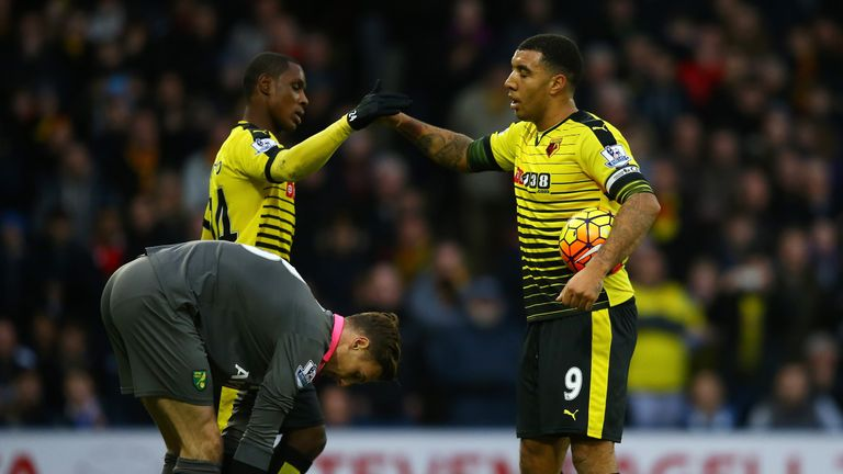 Watford's frontmen have struggled for goals in 2016