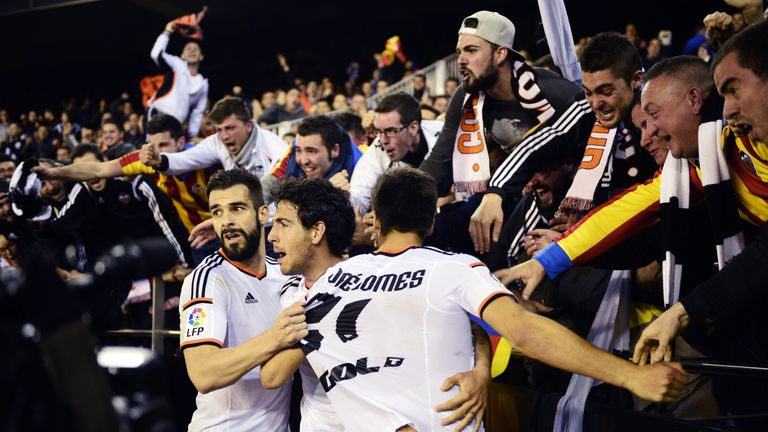 Valencia are currently 11 points off the top four Champions League spots