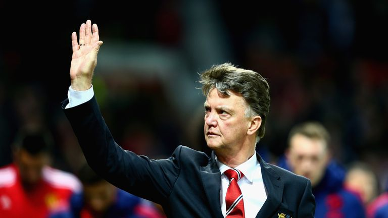 Louis van Gaal is under pressure, with United eight games without a win
