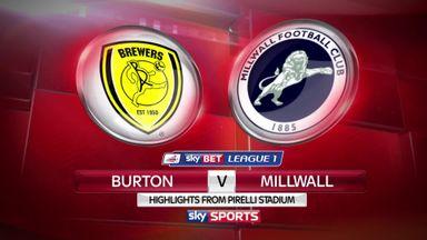Burton 2-0 Millwall