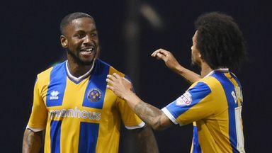 Abu Ogogo: Missed chance for Shrewsbury