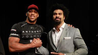 David Haye is keen to battle British rival Anthony Joshua in 2017