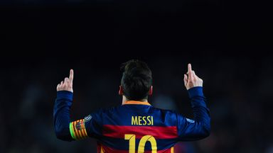 Lionel Messi was named best player and best forward at the La Liga awards