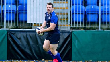 Cian Healy returns to the Leinster front row against Zebre