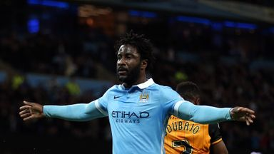 West Ham are interested in signing Wilfried Bony from Manchester City