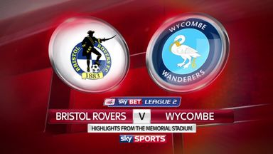 Bristol Rovers 3-0 Wycombe