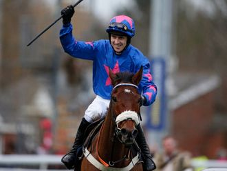 Cue Card: None the worse for Gold Cup fall